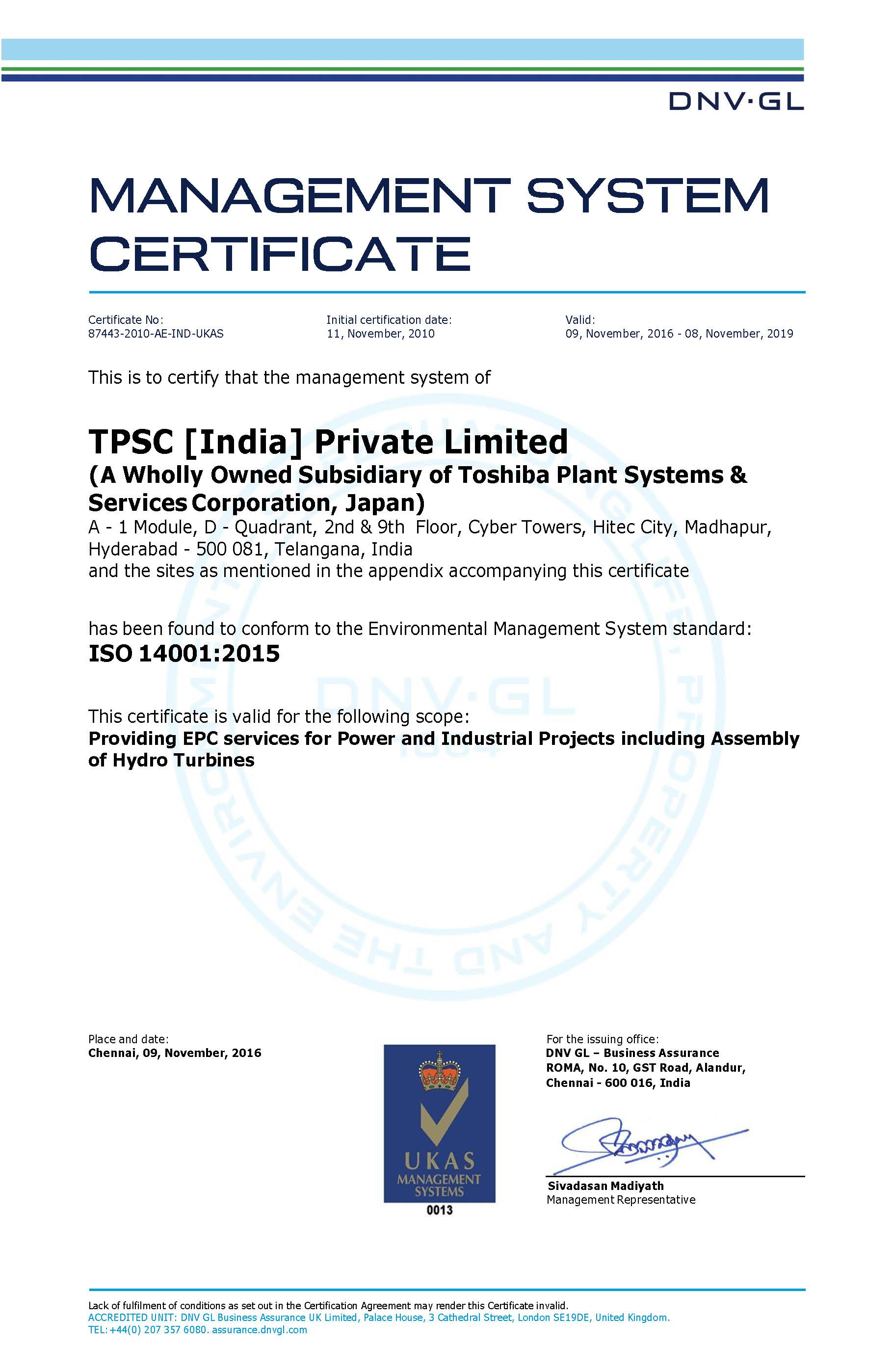 Our Policies: TPSC (India) Private Limited